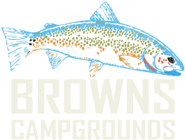 browns campgrounds logo